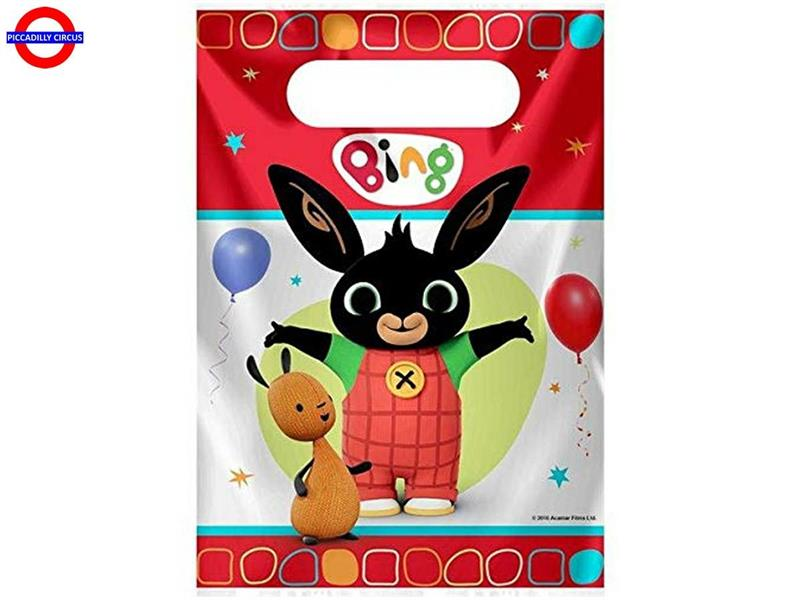BING 8 PARTY BAGS